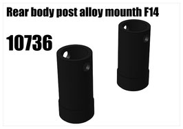 Alloy body post mount rear 2pcs