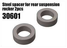 Steel spacer for rear suspension rocker 2pcs