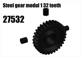 Steel gear modul 1 32 teeth