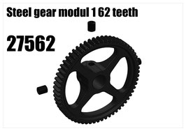 Steel gear modul 1 62 teeth