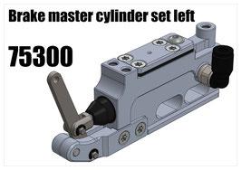 Brake master cylinder set left