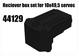 Reciever box set for 10x49,5 servos