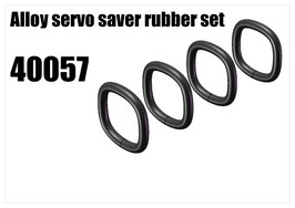 Servo saver rubber 4pcs
