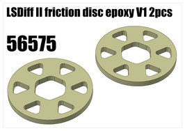 LSDiff II friction disc epoxy V1 2pcs