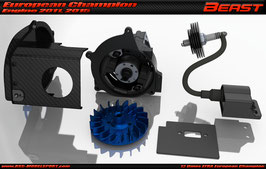 Engine Combo for XT Touring Car Chassis kit Beast S2 DIY kit (external ignition version)