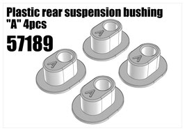 "Plastic rear suspension bushing ""A"" 4pcs"