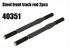 Steel front track rod 2pcs