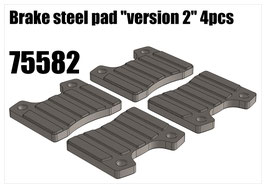 "Brake steel pad ""version 2"" 4pcs"