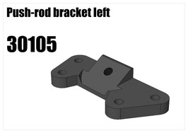 Alloy push-rod bracket left