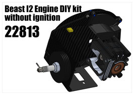 Engine Combo for XT Touring Car Chassis kit Beast I2 DIY kit without ignition (internal ignition version)