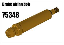 Brake airing bolt