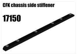 CFK chassis side stiffener