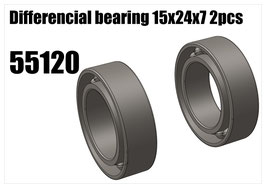 Differencial bearing 15x24x7 2pcs