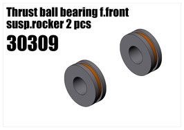 Thrust ball bearing f.front susp.rocker 2pcs
