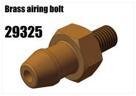 Brass airing bolt