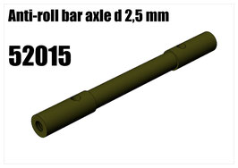 Steel Anti-roll bar axle 2,5 mm