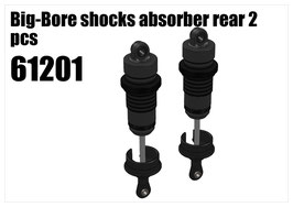 Big-Bore shocks absorber rear 2pcs