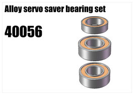 Servo saver bearing set
