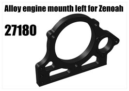 Alloy engine mounth left for Zenoah