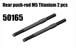 Titanium rear push-rod M5 2pcs