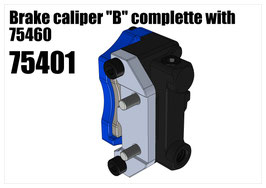 "Brake caliper ""B"" complette with 75460"