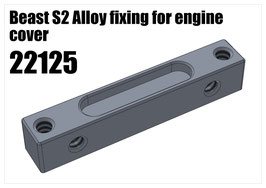 Beast S2 Alloy fixing for engine cover
