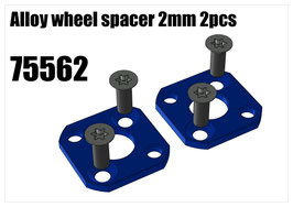 Alloy wheel spacer 2mm 2pcs