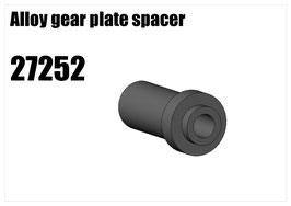 Alloy gear plate spacer