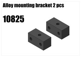 Alloy mounting bracket 2pcs