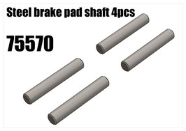 Steel brake pad shaft 4pcs