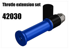 Throtle extension set