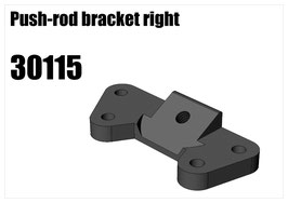 Alloy push-rod bracket right