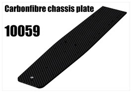 CFK chassis plate