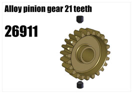 Alloy pinion gear 21 teeth