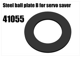 Steel ball plate B for servo saver