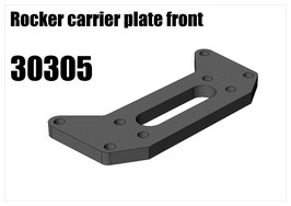 Rocker carrier plate front