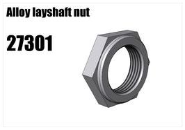 Alloy layshaft nut
