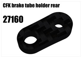 CFK brake tube holder rear