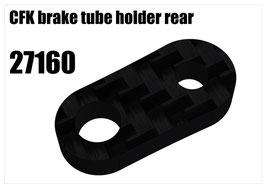 CFK brake tube holder rear