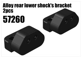 Alloy rear lower shock's bracket 2pcs