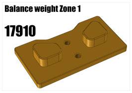 Balance weight Zone 1