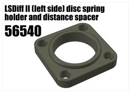 LSDiff II (left side) disc spring holder