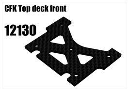 CFK Top deck front