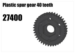 Plastic spur gear 40 teeth