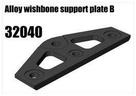 "Alloy wishbone support plate ""B"""