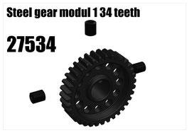 Steel gear modul 1 34 teeth