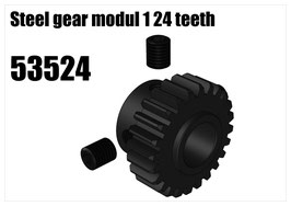 Steel gear modul 1 24 teeth