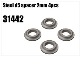 Steel d5 spacer 2mm 4pcs