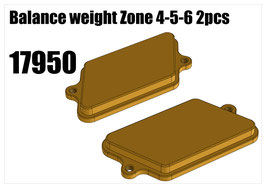 Balance weight Zone 4-5-6 2pcs