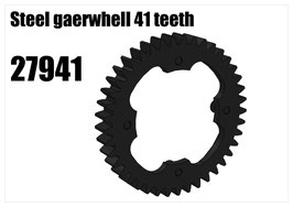 Steel gearwhell 41 teeth